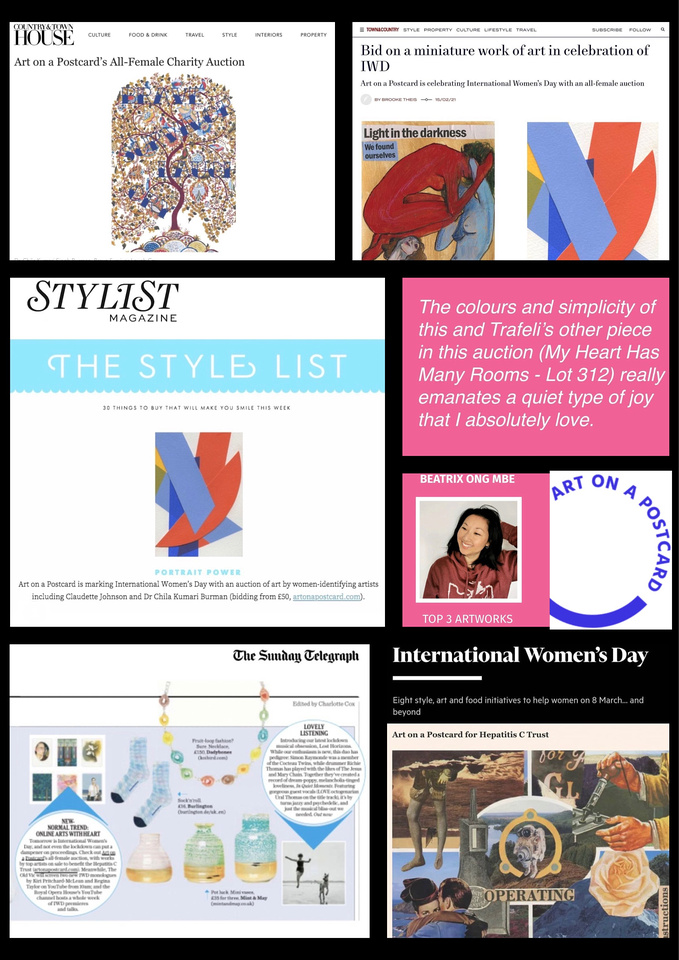 International Women's Day AOAP Charity Auction 2021
