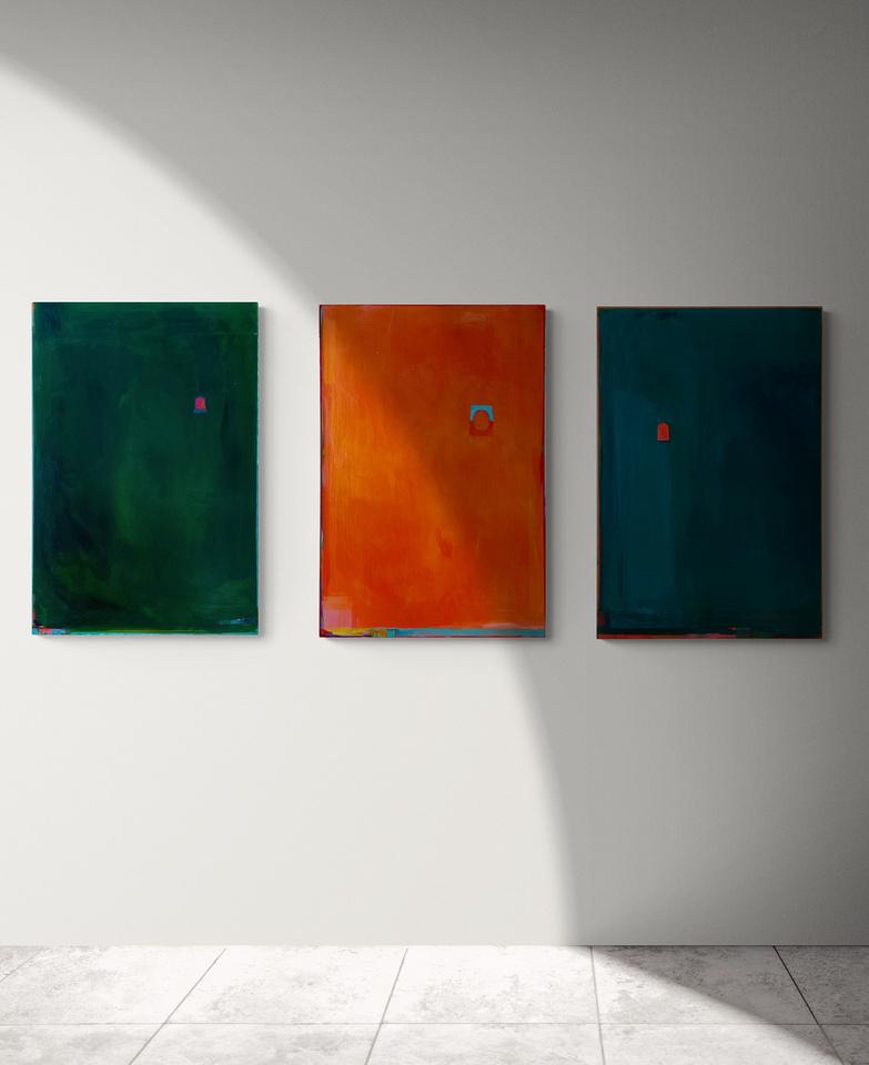 L to R: Mondegreen, Luma (Sold), Tenera (Sold).