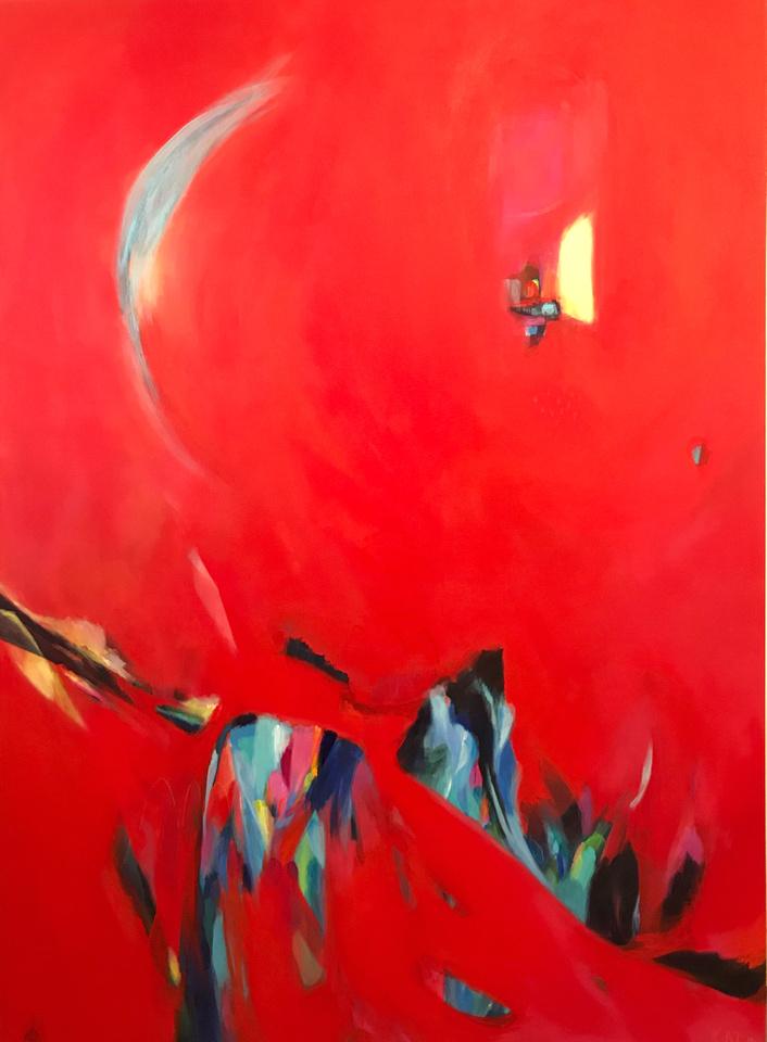 'Alpheus Chase' 180cm x 130cm