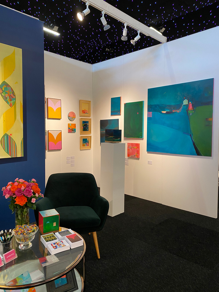 AfterNyne Contemporary Stand E3 AAF Battersea July 2021