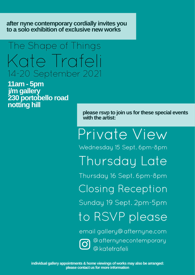 The Shape of Things Events Invitation