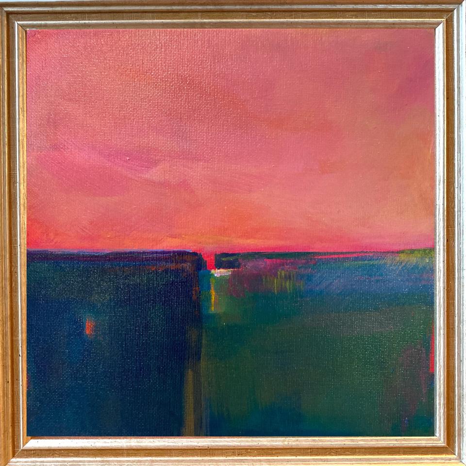 Suadade (20cm sq.) Sold.