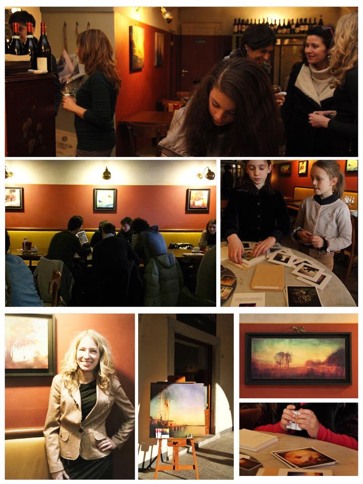 opening night 'The Storyteller' solo exhibition. March 2015